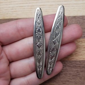 Accessories - Vintage sterling silver hair barrettes